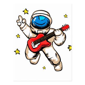 Cartão Postal Gesto da vitória do astronauta