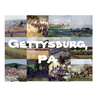 Cartão Postal Gettysburg, PA