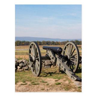 Cartão Postal Gettysburg: Uma ideia da carga de Pickett