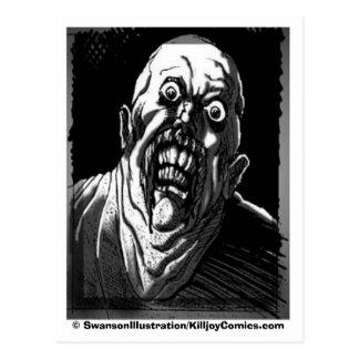 """Cartão Postal Ghoul Gawking: """"É VOCÊ lookin em MIM? """""""