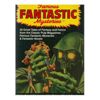 Cartão Postal Ghoul verde gigante