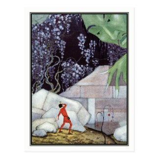 Cartão Postal Gigante do vintage por Virgínia Frances Sterrett