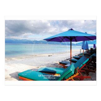 Cartão Postal Gili Trawangan