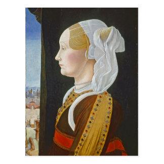Cartão Postal Ginevra Bentivoglio, C. 1474 - 77