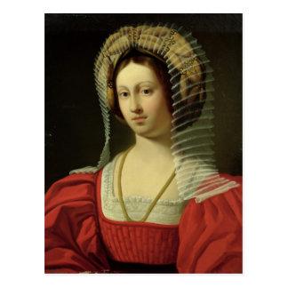 Cartão Postal Giovanna mim rainha de Nápoles, 1842