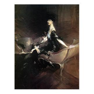 Cartão Postal Giovanni Boldini- Consuelo, duquesa de Marlborough