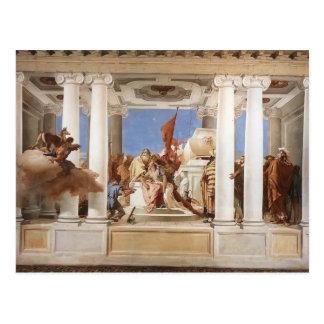 Cartão Postal Giovanni Tiepolo: O sacrifício de Iphigenia