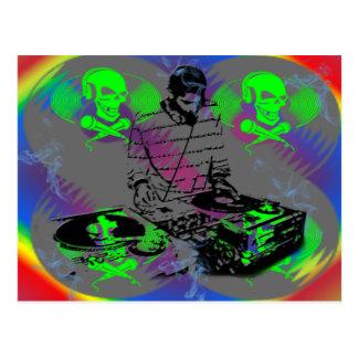 Cartão Postal Girador do DJ Vinal