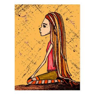 Cartão Postal girl