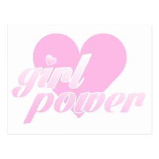 Cartão Postal girl power
