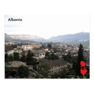 Cartão Postal Gjirokastër, Albânia