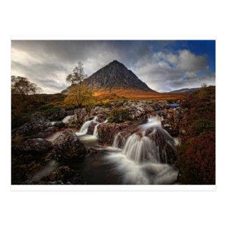 Cartão Postal Glencoe, ANSR de Buchaille Etive, Scotland