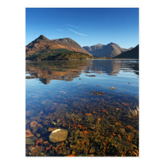 Cartão Postal Glencoe e Ballachulish, Scotland