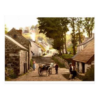 Cartão Postal Glencoe Village_Ireland
