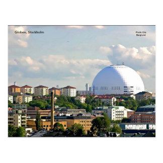 Cartão Postal Globen, Éstocolmo