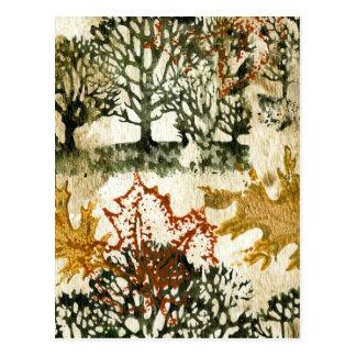 Cartão Postal Glória do outono