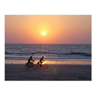 Cartão Postal Goa, India