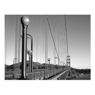Cartão Postal Golden gate bridge