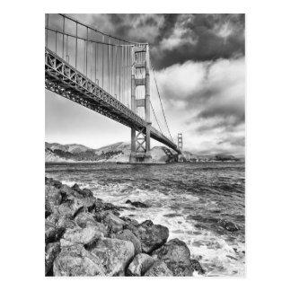 Cartão Postal Golden gate bridge, Califórnia