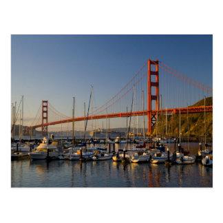 Cartão Postal Golden gate bridge e San Francisco 2