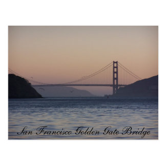 Cartão Postal Golden gate bridge, Golden Gate B de San