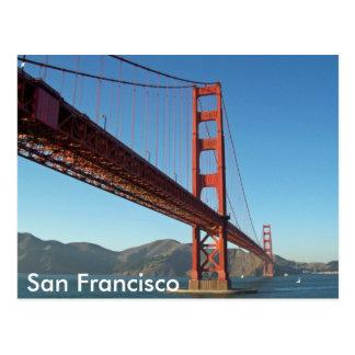 Cartão Postal Golden gate bridge, San Francisco