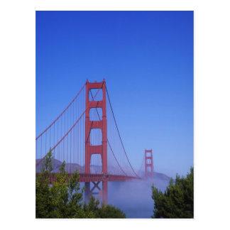 Cartão Postal Golden gate bridge, San Francisco, Califórnia,