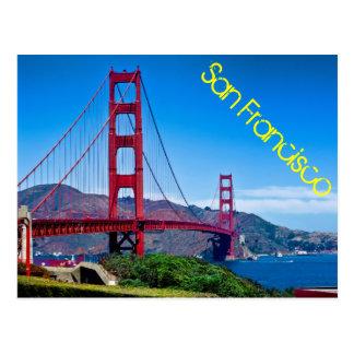 Cartão Postal Golden gate bridge, San Francisco, Califórnia
