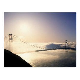 Cartão Postal Golden gate bridge, San Francisco, Califórnia, 4