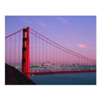 Cartão Postal Golden gate bridge, San Francisco, Califórnia, 7