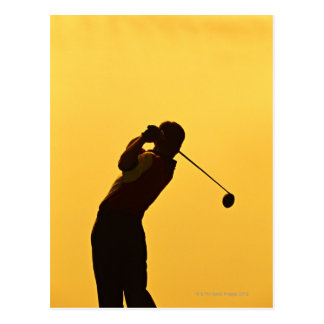 Cartão Postal Golfe
