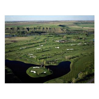 Cartão Postal Golfe do Cottonwood e clube, Alberta, Canadá