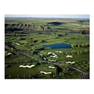 Cartão Postal Golfe e clube do Cottonwood, ao sudeste do Cal