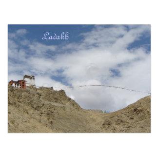 Cartão Postal Gompa de Namgyal Tsemo, Leh, Ladakh, India
