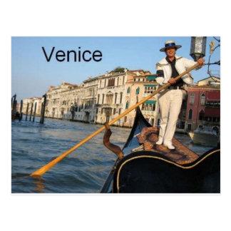 Cartão Postal Gôndola de Italia Veneza (St.K)