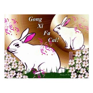 Cartão Postal Gongo Xi Fa Cai