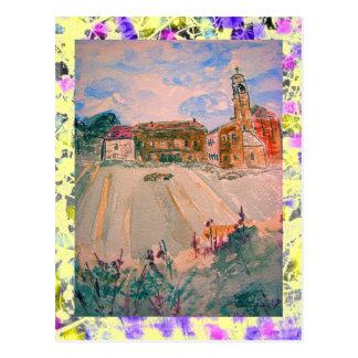 Cartão Postal gotejamento de Italia da província de parma