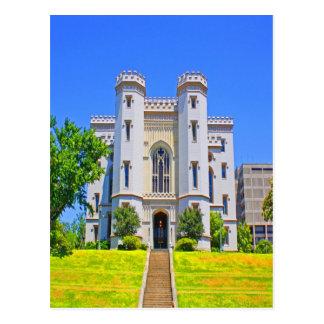 Cartão Postal governador velho Baton Rouge da mansão do