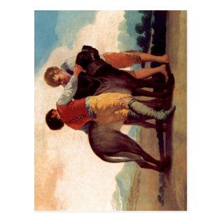 Cartão Postal Goya y Lucientes, Francisco de Entw? rfe f? r