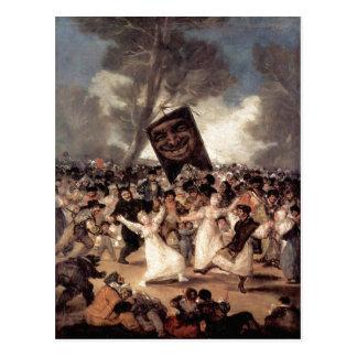 Cartão Postal Goya y Lucientes, Francisco de Francisco de Goya F