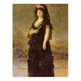 Cartão Postal Goya y Lucientes, Francisco de Retrato do Que