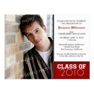 Cartão Postal Graduação da Picareta-Seu-Próprio-Cor (para cores