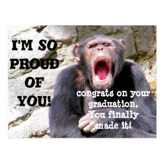 Cartão Postal Graduação, eu sou orgulhoso de You