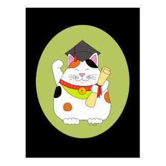 Cartão Postal Graduação Maneki Neko