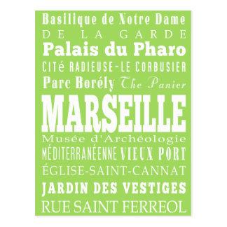 Cartão Postal Graduações presente de Marselha original, France