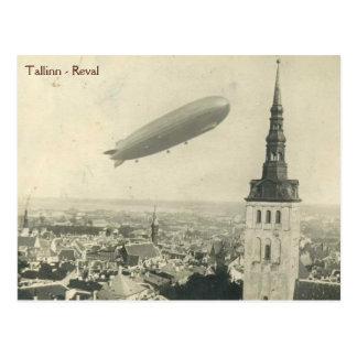 Cartão Postal Graf Zepelim em Tallinn vol.2
