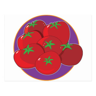 Cartão Postal Gráfico do tomate
