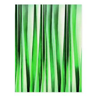 Cartão Postal Grama verde de sussurro