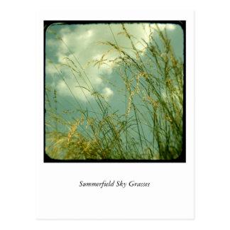 Cartão Postal Gramas do céu de Summerfield