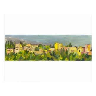 Cartão Postal Granada